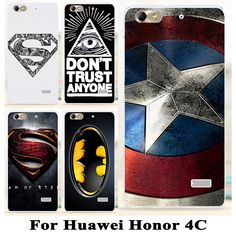 Cheap case cover for samsung galaxy Buy Quality case bass directly from China case lanyard Suppliers: Soft TPU Hard plastic Case For Huawei Honor inch Huawei G Play Mini superman batman capatain america Superman, Batman, Mobile Phone Cases, Play, Plastic Case, Minis, Phone Accessories, Online Shopping, Toys