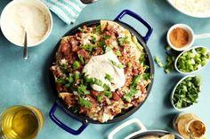 Red Beans and Rice Nachos   http://joythebaker.com/2017/01/red-beans-and-rice-nachos/
