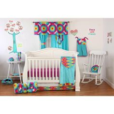 Terrific Tie Dye 3 Piece Crib Bedding Set by One Grace Place, http://www.amazon.com/dp/B00CXB2E6C/ref=cm_sw_r_pi_awdm_1Zpitb0V4X7Z1