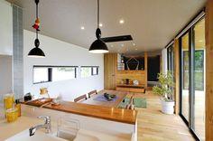 北欧モダンデザインの外観とスローライフな内部の融合   創建築工房