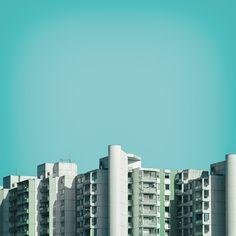 Urban Pantone Photography by Nick Franck Minimalist Photography, Urban Photography, Artistic Photography, Creative Photography, Fine Art Photography, Amazing Photography, Photography Ideas, Photomontage, Creative Studio