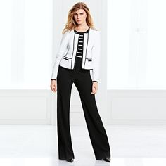 @StitchFix:  Have the pants, would love a new blazer & blouse that is not black.  Perfect black pants? Yes, please. #WHBM #WorkMastered