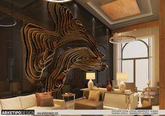 Sochi Marriott  Hotel design by Mert Duyal, via Behance
