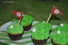 Cupcakes party golf!!!