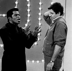 James Brown and Jerry Lewis