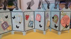 Screen Divider Card By Karla Rapalje Cards And Paper Crafts At Splitcoaststampers