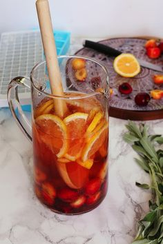 On The Menu: Cherry Rose Sangria