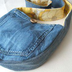 jean purse. so 70's