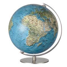 Lille globus til reol