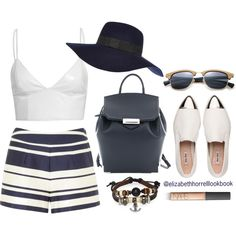 Liz by elizabethhorrell on Polyvore featuring moda, Jane Norman, River Island, Ray-Ban and NARS Cosmetics