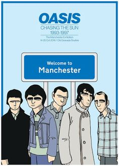 New Oasis Artwork By Pete Mckee On Sale Now From The Official Store ~ STOPCRYINGYOURHEARTOUT.COM Latest Oasis, Liam And Noel Gallagher News