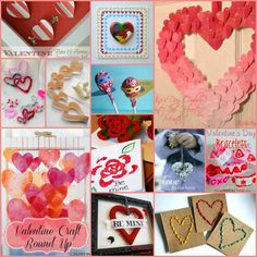 Valentine Craft Round Up and Link Party