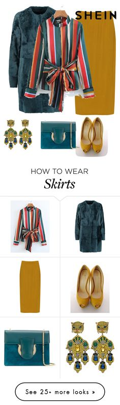 """""""outfit 7115"""" by natalyag on Polyvore featuring Drome, Giuseppe Zanotti, WearAll, Salvatore Ferragamo, Gucci and plus size clothing"""