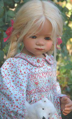 "luluzinha kids ❤ bonecas ❤ Sinchi in ""Baby Bella"" dress by me by Airelda, via Flickr"