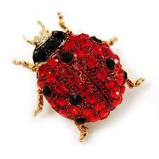 My Favorite. Red crystal ladybug