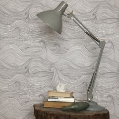 I might have to get this wallpaper for that Edward Gorey room I've been wanting to do.