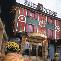 FRANCE:  Famous French restaurant owned by Paul Bocuse the father of French gastronomy, as he is known. This famous chef (80 years old now) still cooks.  TRY THE TRUFFLE SOUP..yum