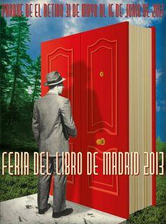 Cartel de la Feria del Libro de Madrid 2013. Demasiado Best Seller... A casa me llevo el libro 'Uno sbirro femmina', de Silvia La Spinta #FLMadrid