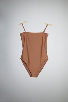 Nu Swim | Straight One Piece - Chai
