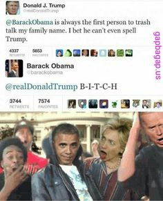 Funny Tweets About Donald Trump vs. Barack Obama