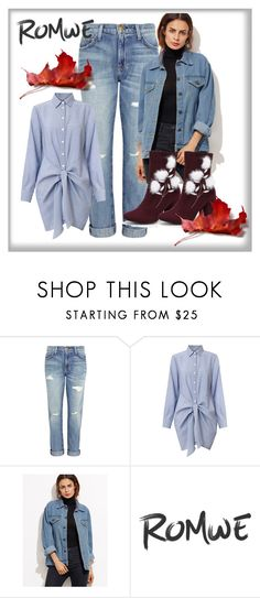 """""""Romwe contest jacket"""" by meli76 ❤ liked on Polyvore featuring Current/Elliott"""