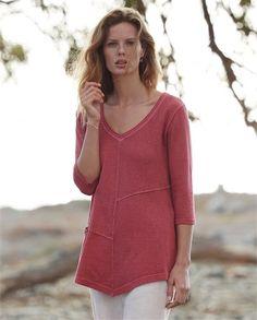 Product Image of Hemp and cotton jersey tunic