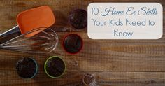 To be prepared for life on their own, make sure to teach your teens these 10 basic home ec skills kids need to know.