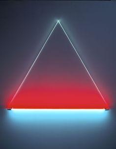 Christian Herdeg - Isis, 1983 light art installation. lichtkunst