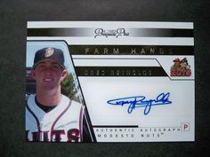 2006 Tristar Prospects Plus Farm Hands Autograph #40 Greg Reynolds SP Rockies NM/MT