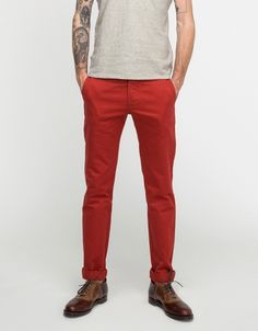 Westpoint Twill Chino Pant In Rust (via Need Supply Co.; $198)