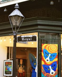 New Orleans Art Royal Street Sign Photograph 8x10 by Briole, $30.00
