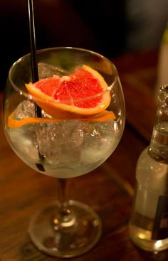 Gin Tonic (photo by me)