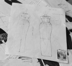 AMphora Long dress: the creative process http://blog.martacucciniello.com/post/85890678039/the-creative-process-amphora-long-dress