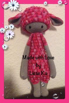 LUPO the lamb by Liese Ka / crochet pattern by lalylala