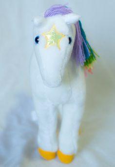 Vintage Rainbow Brite Horse Starlite Mattel by toysandtutusbyjojo