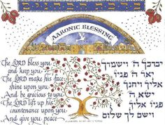 I love this! I have it hanging in my dining room.    Aaronic Blessing - Numbers 6:24-26