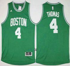 4c16413e5 ... Boston Celtics Jersey 4 Isaiah Thomas Revolution 30 Swingman 2014 New Green  Jerseys Boston Celtics Jersey 9 Rajon Rondo ...