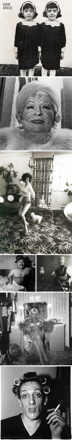 Diane Arbus - love the one with the dog.