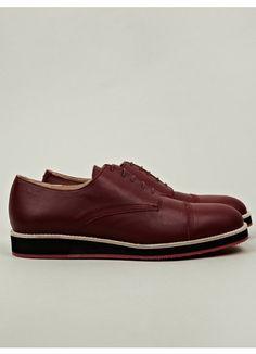 Men's Contrast Sole Derby Shoe