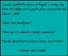 Vishous & Zsadist - Lover Unbound - Black Dagger Brotherhood