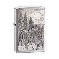 Zippo Timberwolves Emblem Lighter ($37) ❤ liked on Polyvore featuring home, home improvement and lighter