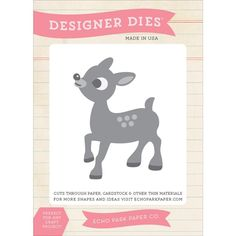 Up for some Reindeer Games?  We love this adorable die by Echo Park!