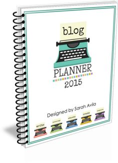 BLOGGING PLANNER! 50% off 12/8 through 12/9. Use Code: BLOG50
