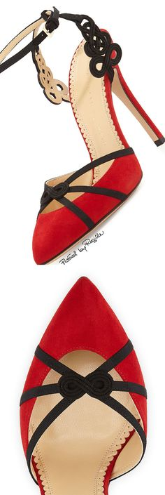 Charlotte Olympia S/S 2015 Dream Shoes, Crazy Shoes, Me Too Shoes, Hot Shoes, Shoes Heels, Red Heels, Chic Chic, Kinds Of Shoes, Stilettos