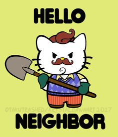 Gamer Geek Garbage hello neighbor