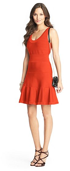 Diane von Furstenberg Perry Knit Fit and Flare Dress on shopstyle.com.au