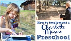 I've told this story many times here on the blog, but when my oldest child was two years old I began researching preschool options. At that time, everyone I knew was sending their child to a preschool program. It was not long before I stumbled upon another blog and learned about the Charlotte Mason method …