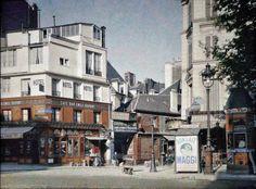 Paris - Angle du Boulevard Beaumarchais et de la Rue du Pas de la Mule  Paris,  juin1914