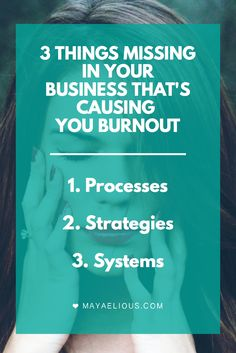 Feel like you're heading for burnout? These three things could help you get your business back on track