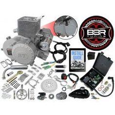 66cc 80cc Motor bike engine parts 8mm cylinder  silver